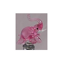 Pink Elephant Bottle Stopper