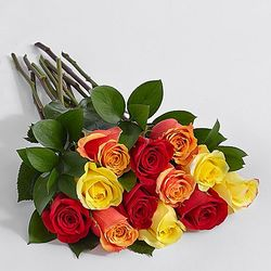 Autumn Roses Bouquet