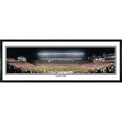 New England Patriots Gillette Stadium Opening Night Art Print