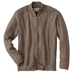 Men's Voyager Zippered Cardigan