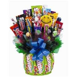 Skittles and Grins Candy Bouquet