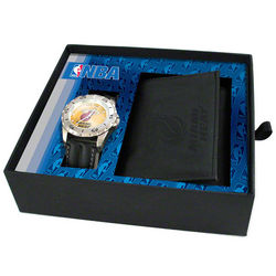 Miami Heat Watch and Wallet Set
