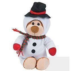 Plush Snowman Bear