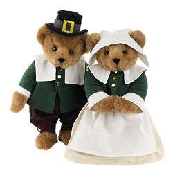 "15"" Pilgrim Teddy Bears"