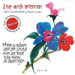 Live With Intention 2013 Wall Calendar