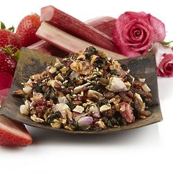 Strawberry Rose Champagne Loose Leaf Oolong Tea