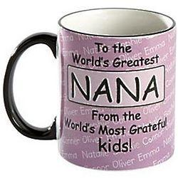 Personalized Kids' Names World's Greatest Ceramic Mug