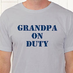 On Duty Personalized T-Shirt