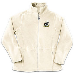 Mother's Love Panda Art Fleece Jacket