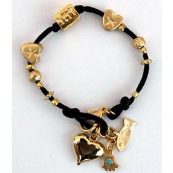 Black Kabbalah Charms Bracelet