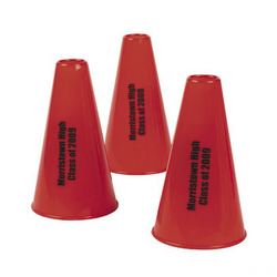 Personalized Red Megaphones