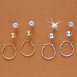 3 Style Earring Set