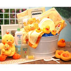 Bath Time Baby Large Gift Basket
