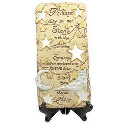 Perhaps They are not Stars in the Sky Sympathy Plaque