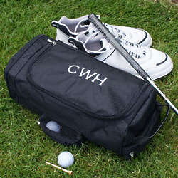 Embroidered Golf Shoe Bag