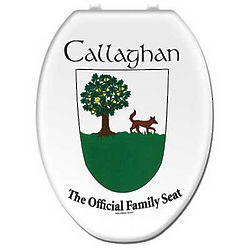 Personalized Scottish Family Crest Toilet Seat Cover