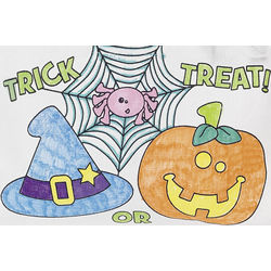 Color Your Own Halloween Friend Trick-or-Treat Tote Bags