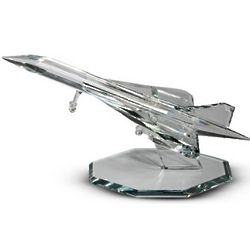 Large Crystal Mach Fighter Jet