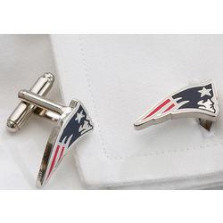 New England Patriots Cuff Links