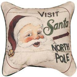 Visit Santa Pillow