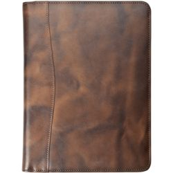 Distressed Leather Journal Size Planner Cover