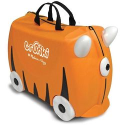 Orange Trunki Kid's Luggage