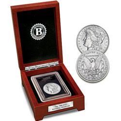 1900 Double Mint-Mark Morgan Silver Dollar Coin