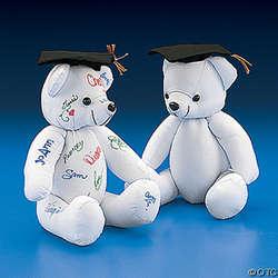 Graduation Autograph Bear