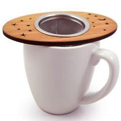 Wood Tea Nest with Strainer