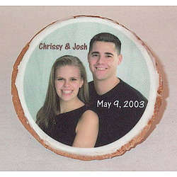 """3.5"""" Round Photo Cookies"""