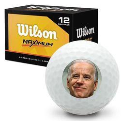 Bite Me Biden Wilson Maximum Novelty Golf Balls