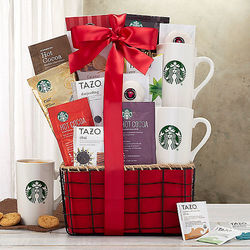 Starbucks and Tazo Kosher Assortment Gift Basket