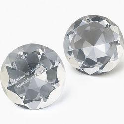 Personalized Diamond Gemstone Paperweight