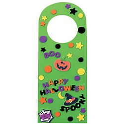 Halloween Doorknob Hanger Craft Kit