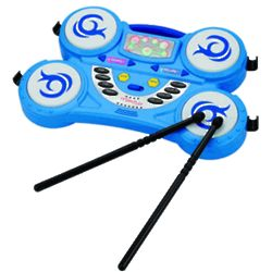 Kid's Rockin Beats Toy Drum Set