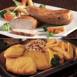 Fish and Fowl Gourmet Gift Box