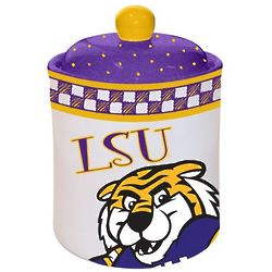 LSU Tigers Gameday Ceramic Cookie Jar