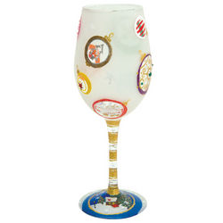 Ornamental Wine Glass