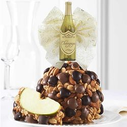Chocolate Peanut Butter Almond Celebration Caramel Apple Gift