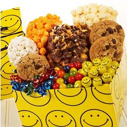 Smiley Face Sampler Gift Box