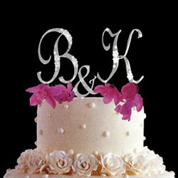 Crystal Cake Toppers