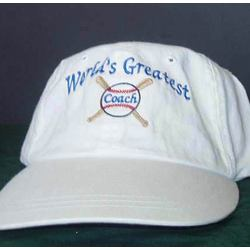 Personalized World's Greatest Coach Hat