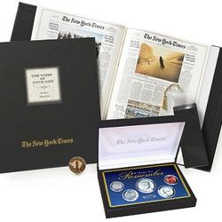 Deluxe Birthday Book with Year to Remember Coin Set