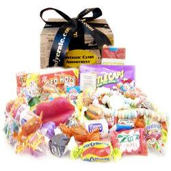 Newsprint Nostalgic Candy Gift Box