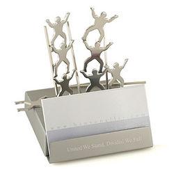 Teamwork Magnetic Business Card Holder