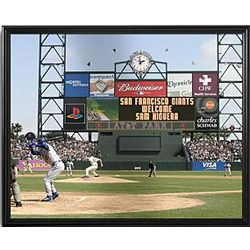 Personalized MLB Scoreboard San Francisco Giants Canvas