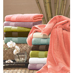 Bamboo and Egyptian Cotton Towel