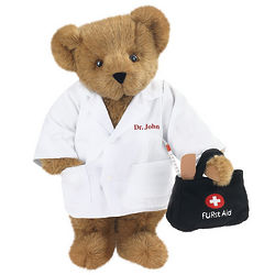 "15"" Doctor Teddy Bear"