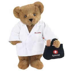 """15"""" Doctor Teddy Bear"""