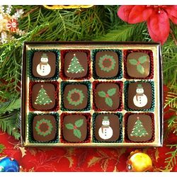 12 Piece Christmas Chocolate Collection